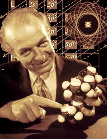 No diagrama criado por Linus Pauling (foto), a distribuição eletrônica de íons fica simples