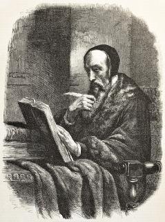 Gravura retratando João Calvino (1509-1564), um dos principais expoentes do protestantismo na Idade Moderna