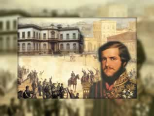 A construção da Identidade Nacional brasileira se efetivou no século XIX. D. Pedro II e a elite política imperial forjaram os elementos simbólicos que