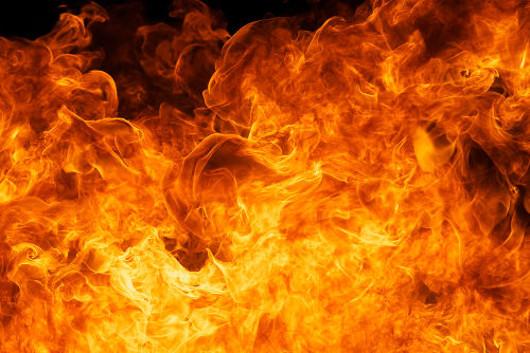 O fogo não possui nenhum estado físico porque ele é energia