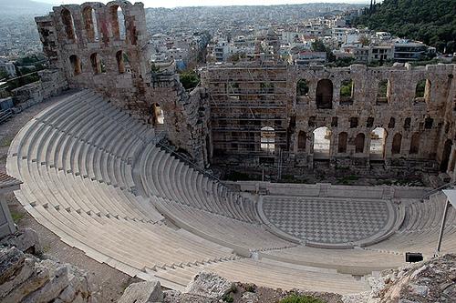 A cidade-estado Atenas.