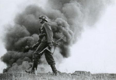Soldado alemão durante a Operação Barbarossa, em 1941
