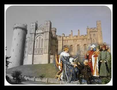 A terra, no período medieval, encontrava-se em posse da nobreza