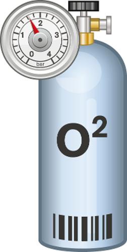 O gás oxigênio é um exemplo de substância que apresenta ligação pi entre seus átomos