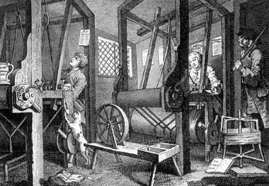 Influenciados pela Revolução Industrial, os iluministas confiavam na razão humana e nas tecnologias como meios de se atingir o progresso humano