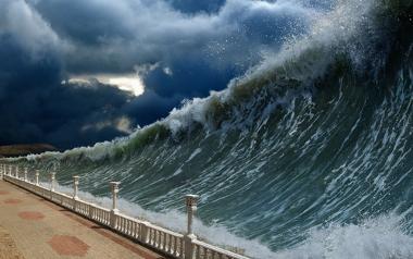 Os tsunamis tornaram-se uma causa frequente de desastres naturais