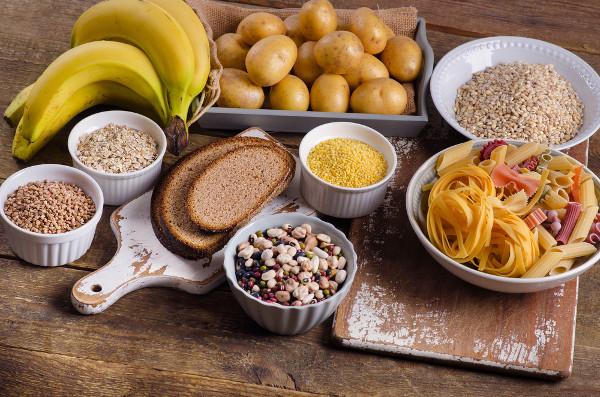 Os carboidratos são encontrados em vários alimentos