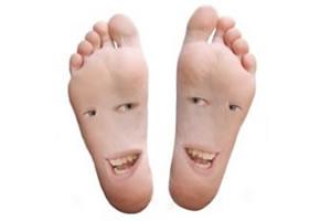 """Muitas vezes os pés te """"dizem"""" o que estão sentindo."""