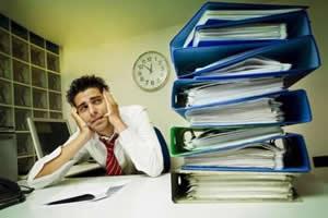 A preocupação excessiva contribui para o desencadear do estresse, am algumas pessoas.