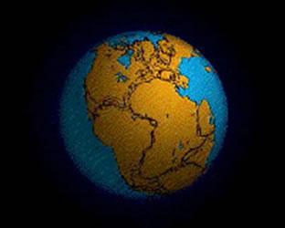Pangéia, o primeiro continente da Terra.