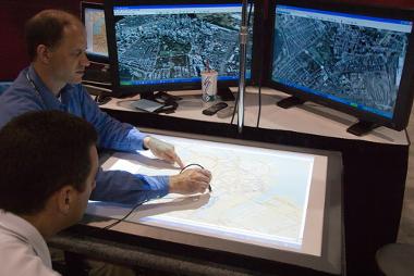 Digitalização de mapas via imagens de satélite¹