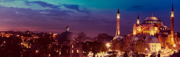 A Basílica de Santa Sofia foi construída durante o reinado Justiniano no século VI