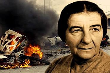 Golda Meir quase foi vítima de um atentado organizado pelos terroristas do Setembro Negro.