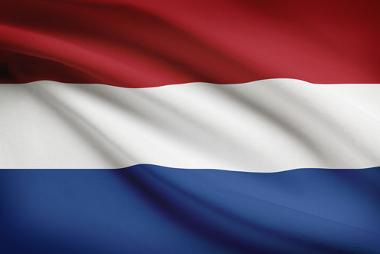Bandeira da Holanda, chamada de Países Baixos