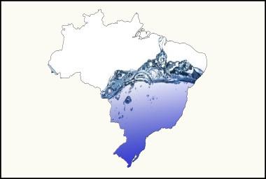 A disponibilidade de água no Brasil não ocorre de maneira homogênea