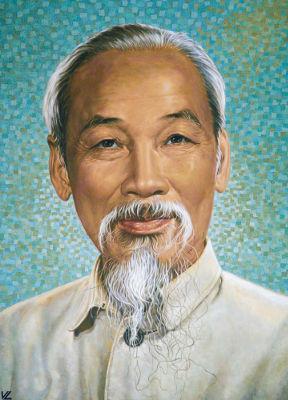 Ho Chi Minh foi o líder dos Vietminh na luta contra o domínio colonial dos franceses *