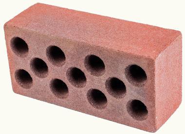 Os tijolos usados na construção civil têm formato de paralelepípedo retangular