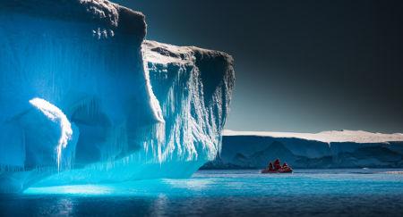 Miragens em locais de frio extremo são mais raras e ocorrem em posições superiores