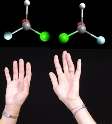 A isomeria óptica ocorre quando o carbono é assimétrico, originando enantiômeros que são a imagem especular um do outro